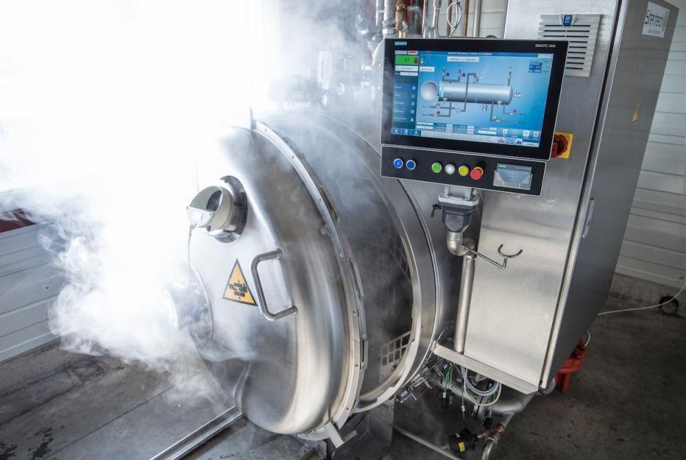 Autoclave air vapeur